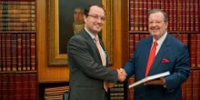 Embaixador da Hungria é recebido na CCIP