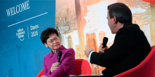 """Webinar: """"Direct Dialogue with Mrs Carrie Lam, the Chief Executive of the Hong Kong Special Administrative Region"""""""